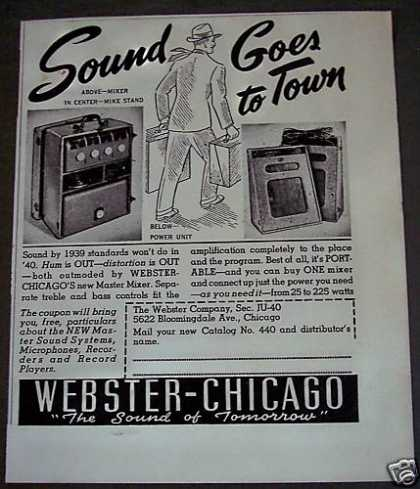 Webster-chicago Master Mixer Music (1940)