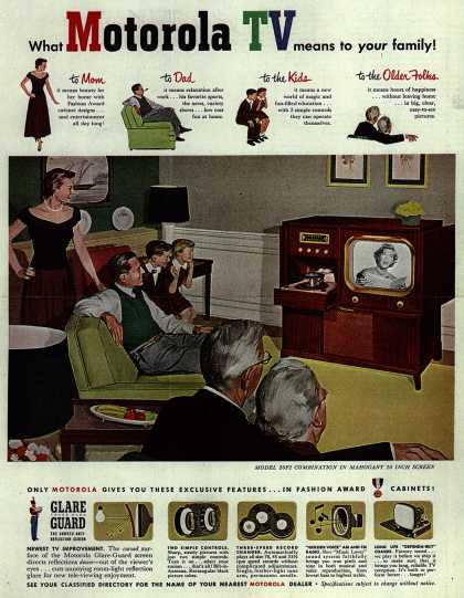 Motorola's Television – What Motorola TV means to your family (1951)