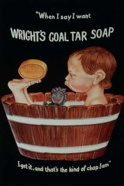 Wright's Coal Tar Soap, UK (1920)