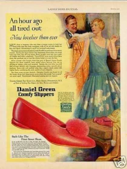 Daniel Green Comfy Slippers (1927)