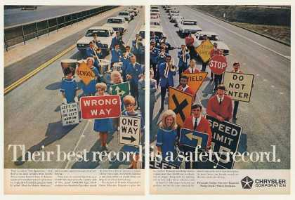 Chrysler The Spurrlows Music Safety Group (1968)