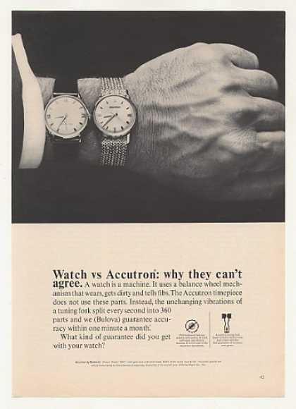 Watch vs Bulova Accutron Model 560 Photo (1965)