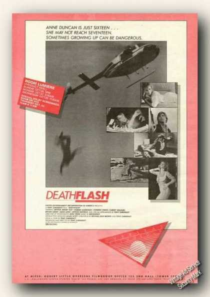Deathflash Movie Rare (1986)