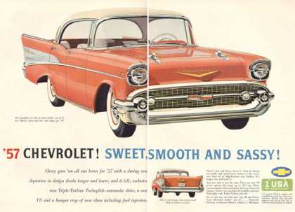 Chevy Bel Air Sport Sedan Print (1957)