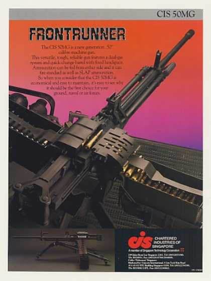 Chartered Ind of Singapore CIS 50MG Machine Gun (1988)