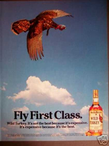 Flying Wild Turkey Whiskey (1985)