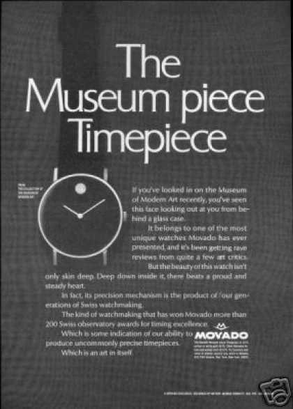 Movado Watch Museum Timepiece (1968)