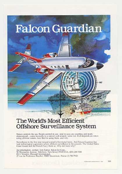 Falcon Guardian Aircraft Offshore Surveillance (1980)
