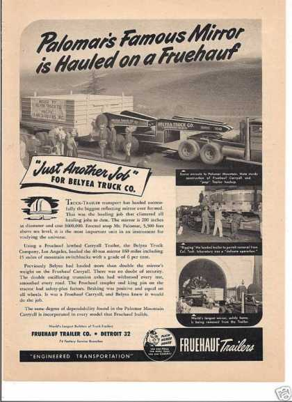 Fruehauf Trailers Another Job (1948)