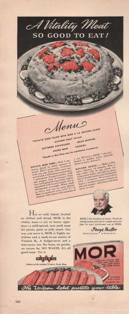 Wison Mor Canned Meat (1942)