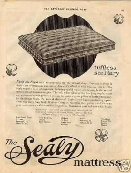 Sealy Mattress (1922)