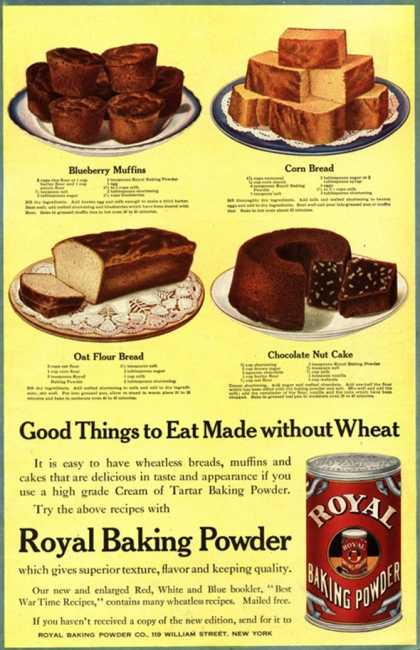 Cooking Royal Baking Powder, USA (1910)