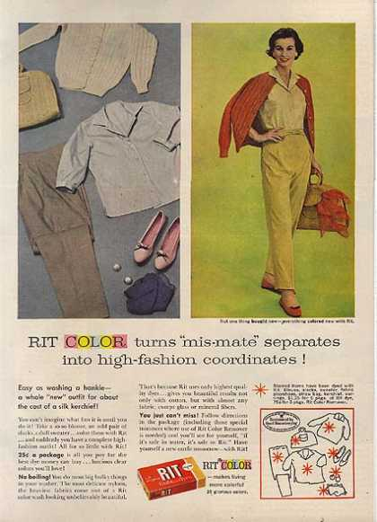 Rit's tints and dyes (1959)
