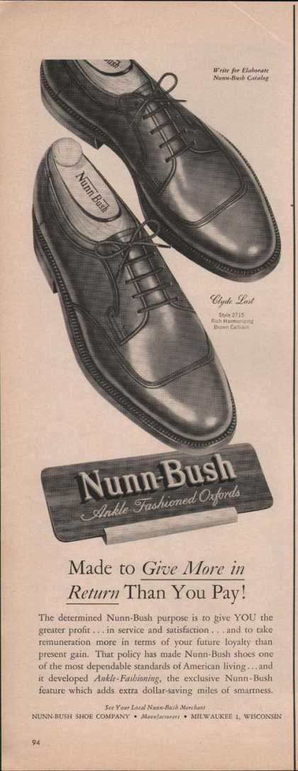 Nunn Bush Ankle Oxford Mens Dress Shoe (1951)