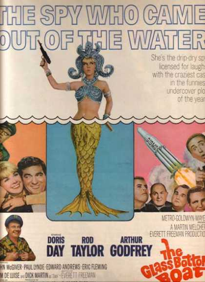 The Glass Bottom Boat (Doris Day, Rod Taylor and Arthur Godfrey) (1966)
