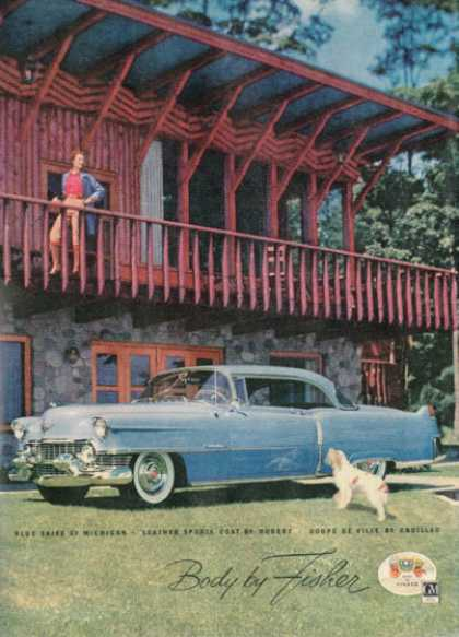 Cadillac Coupe De Ville Michigan Dog (1954)