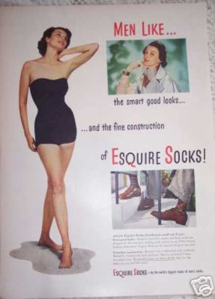 Swimsuit Model Esquire Sox (1948)