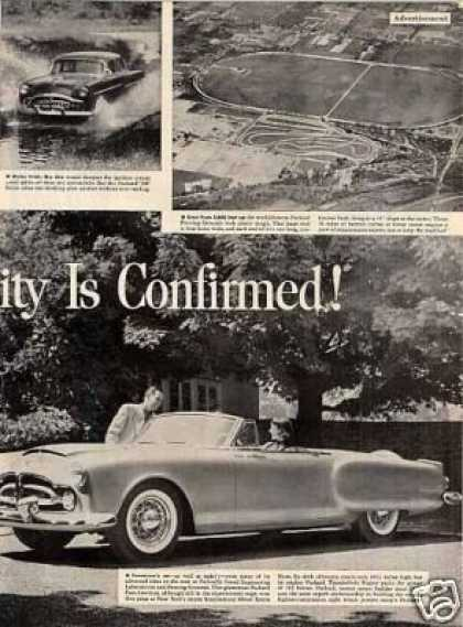 Packard Car Ad 2 Page (1952)