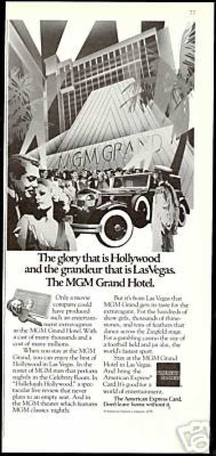 MGM Grand Hotel Las Vegas American Express (1979)