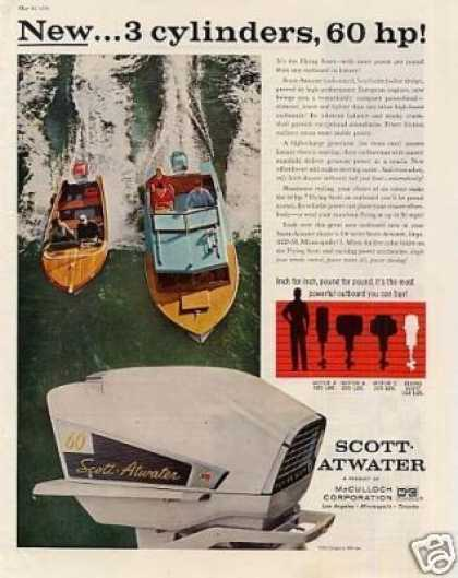 Scott-atwater Outboard Motor (1958)