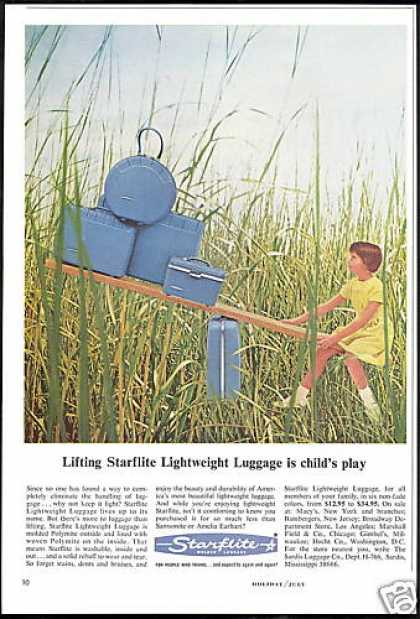 Starflite Lightweight Molded Luggage Photo (1966)