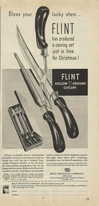 Flint Hollow Ground Cutlery (1946)