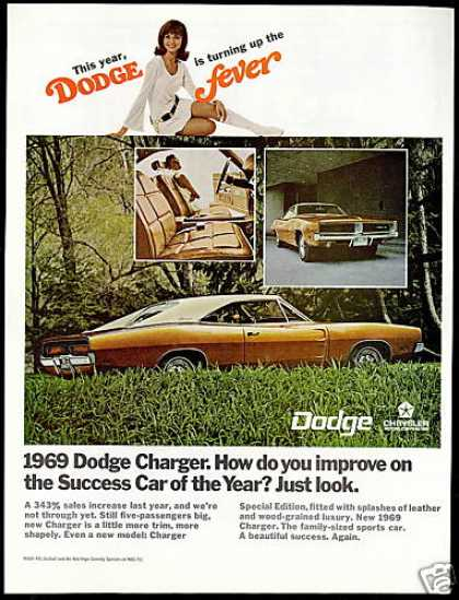 Dodge Charger Special Edition Car 3 Photo (1969)