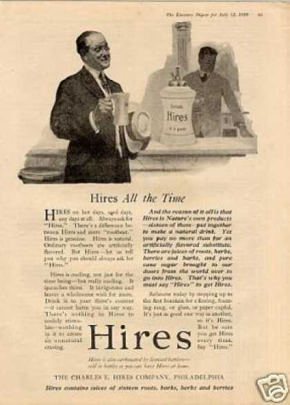 Hires Root Beer (1919)