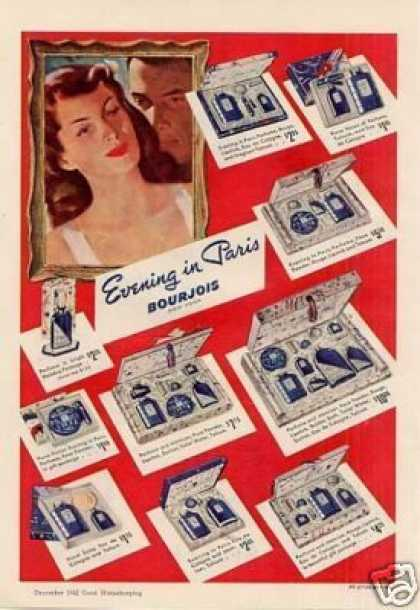 Bourjois Evening In Paris Perfume (1942)