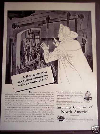 Insurance Co of North America the White Fireman (1939)