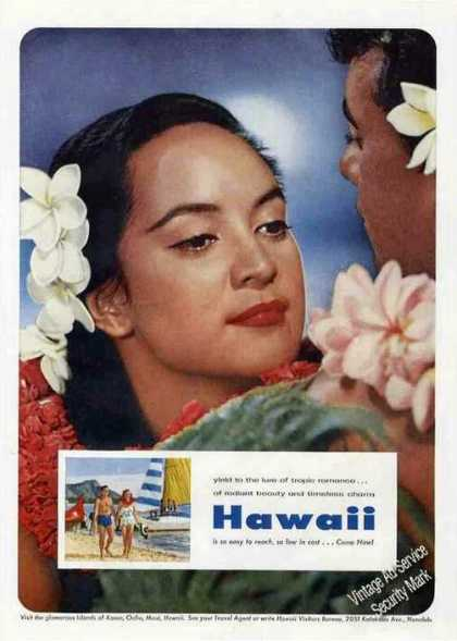 Pretty Lady Hawaii Travel (1956)