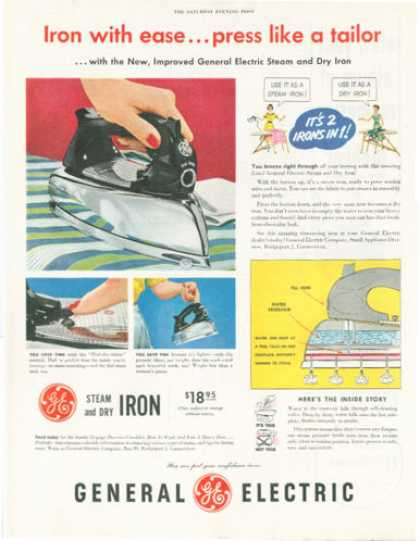 Ge General Electric Iron (1952)
