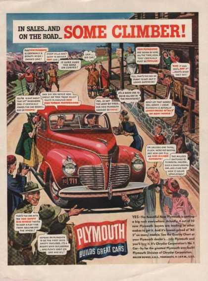 Plymouth Builds Great Cars (1941)