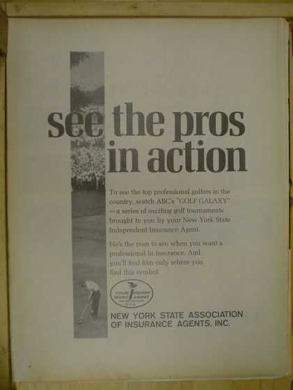 New York State association of insurance agents. ABC's golf galaxy. (1968)