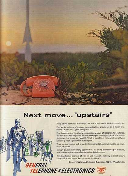 "General's ""Next move...'upstairs'"" (1960)"