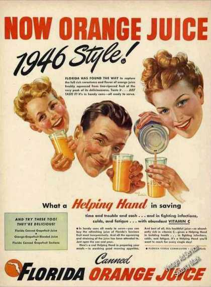Florida Orange Juice Style (1946)