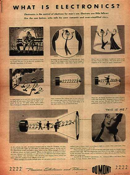 Allen B. DuMont Laboratorie's DuMont Electronics and Televisions – What is Electronics? (1943)