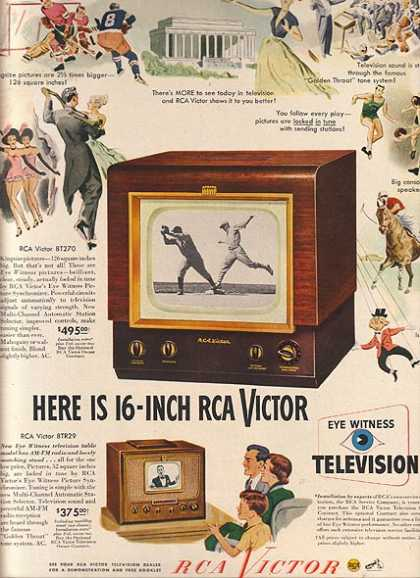 RCA Victor's Television Sets (1949)