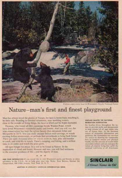 Sinclair Oil – Natures Playground (1958)