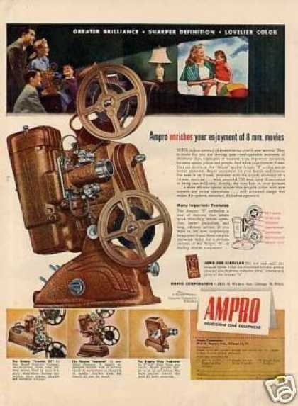 Ampro Movie Projector (1947)