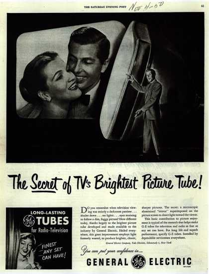 General Electric Company's Radio-Television Tubes – The Secret of TV's Brightest Picture Tube (1950)