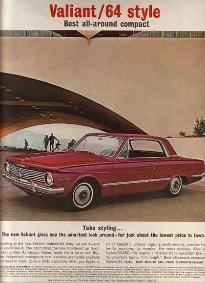 Chrysler's Plymouth Valiant/ Duster/ Barracuda