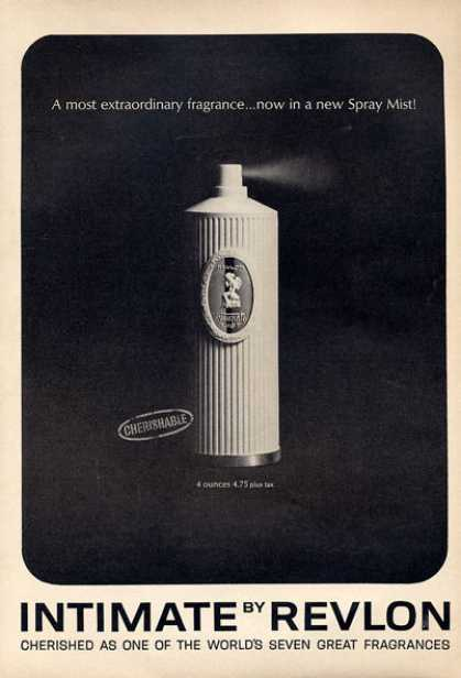 Revlon Intimate Fragrance Bottle (1964)