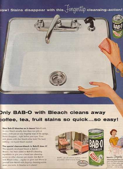 Bab-O's Kitchen Cleanser (1955)