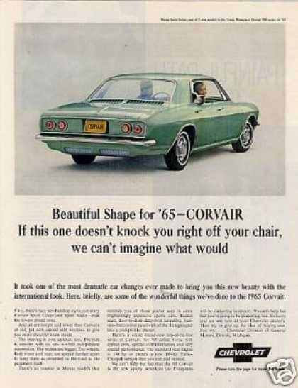 Chevrolet Corvair Monza Sport Sedan (1965)