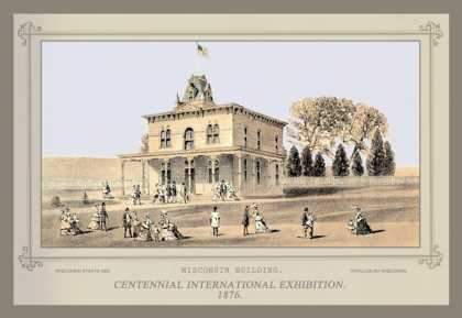 Wisconsin Building, Centennial International Exhibition (1876)