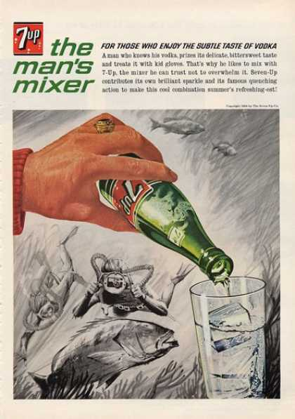 7 Up Scuba Underwater Photography Camera (1964)