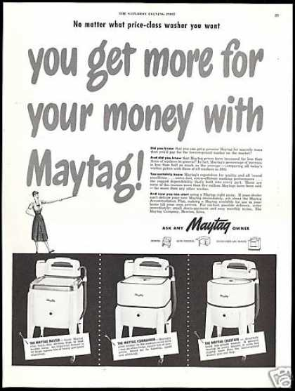 Maytag Washing Machine Commander Chieftain (1948)