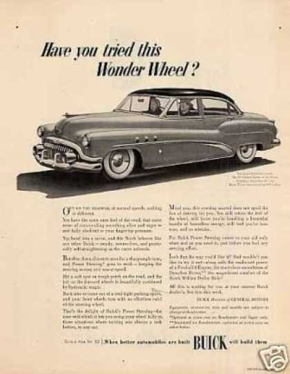"Buick Eight Car Ad ""Have You Tried This... (1952)"