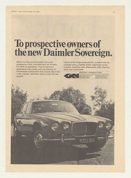 Daimler Sovereign GKN Transmissions British (1969)